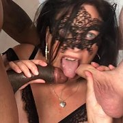 Jane Takes Two Cocks Part 1 with Jane Mellonzz