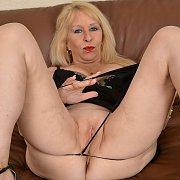 Mature Blonde Babe with Sandy Pierce