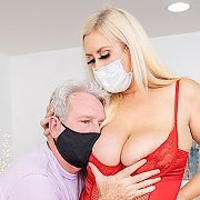 Sexy Blonde Plumper Milf Enjoys A Pussy Massage with Lila Lovely