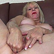 Naughty Blonde MILF with Sandy Pierce