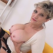 Milf Cock Tease In Thigh Boots with Lady Sonia