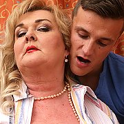 Huge Breasted Mature BBW Playing Around With Her Toyboy with Helena