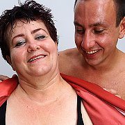 Horny Mature BBW Getting Seduced In The Shower with Rosa M
