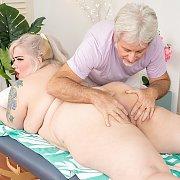 Blonde Plumper Enjoys Pussy Massage with Genevieve LaFleur