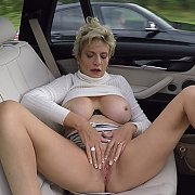 Clit Massage In The Car with Lady Sonia