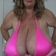Titties Shaken Out of Bikini with Suzie Q