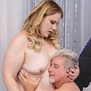 Blonde BBW Enjoys A Pussy Pounding with Curvy Mary