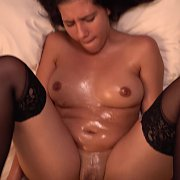 Lubed Up Latina MILF with Victoria Valencia