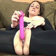 Brunette Milf Getting Off With A Toy with Melanie Hicks