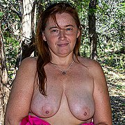 American Housewife Voyear Gets Naughty In The Woods, Then Takes You Home with Gypsy Leigh