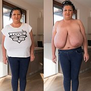 Saggy Giant Tits with Esmeralda