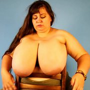 Tits Over a Chair Flops with Nina Doll