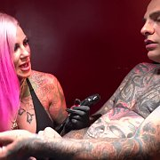 Tattooing and Fucking: The Movie with Evilyn Ink
