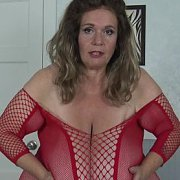 Fishnet Giant Tits Play with Suzie Q