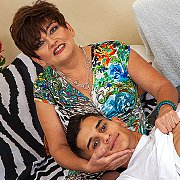 Hairy Cougar With Her Toyboy: The Movie with Sisi