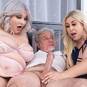 Horny Plumpers Share A Dick with Lila Lovely, Tiffany Star BBW