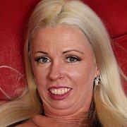 Shy Leggy Blonde with Beth