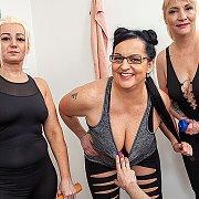 Mature Fitness Groupsex: The Movie with Belinda, Ida, Miya