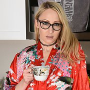 Bespectacled Beauty with Crystal Clark