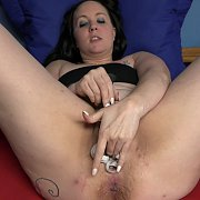 Raunchy Milf Stuffs Her Pussy With Panties with Selena Sky