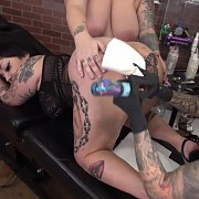 Tattooing Mother Aurora's Butthole: The Movie with Mother Aurora, Evilyn Ink