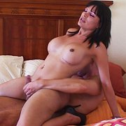 Big Titty Mexican Trans Takes A Cock with Samantha