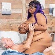 Fat N Sexy Ebony BBW Enjoys A Pussy Pounding with Pretty Piggy Maya