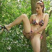Bikini Bottoms with Antonia Sainz